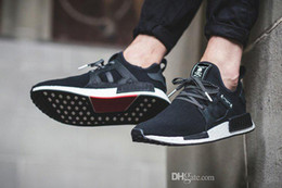 Wholesale Best Casual Shoes For Men - Best NMD XR1 x Mastermind Japan Skull Men's wome Casual Running Shoes for Men women quality Black Red White Boost Fashion Sneaker pirate