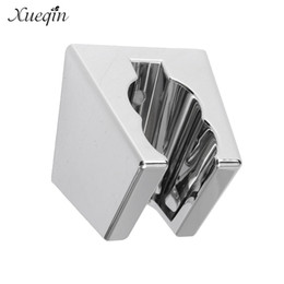 Wholesale Handheld Bidet Sprayer - Xueqin Wall Mounted Bathroom Shower Holder Bracket Handheld Chrome Showerhead Sprayer Bidet Bidets Head Holder