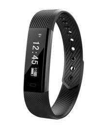 Wholesale Vibrating Bluetooth - Smart Bracelet Waterproof Bluetooth Smart Pedometer Sport Heart Rate Mornitor Sleeping Monitor Vibrate Reminder Pedometer Bracelet
