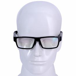 occhiali da sole pinhole Sconti GANSS Touch On / Off Nessun pulsante Smart Camera Occhiali Pinhole Occhiali da sole DVR Video Audio Recorder Mini DV Occhiali 1920 * 1080 30fps