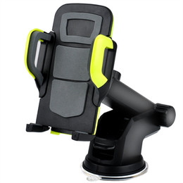 Wholesale Car Support Iphone - Car Phone Holder Mount Stand Support Dashboard, Windshield Cell Phone Holder for Car with Flexible Arm Universal for Iphone, Samsung Galaxy