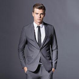 Wholesale Men Fashion Luxury Vest - Fit Plus Size Men Blazers Jacket+Pants+Vest Boss Jacket Blazer New Design Men Fashion Luxury Jacket Free Shipping K312