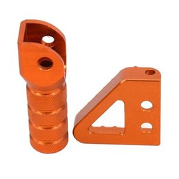 Wholesale Ktm Brake Lever - Rear Brake Pedal Step Tips Gear Shifter Lever Tip For KTM SX EXC XCF XC XCW SXF EXCF SMR LC4 Enduro 125 250 300 350 400 450 500