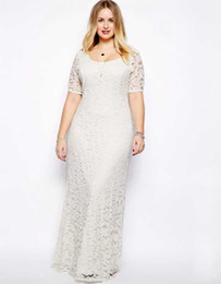 ec02d17fd52 2018 Lady Large Size Wedding Dresses Casual Party Summer June July August  New Brand Four Colors Short sleeve Long Dresses