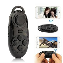 Peças ccessories controle remoto 3 in1 sem fio bluetooth gamepad controlador de jogo selfie obturador remoto mouse para ios android pc portátil tv ... cheap tv parts de Fornecedores de peças de tv