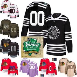 2019 Winter Classic Custom Chicago Blackhawks uomo donna gioventù 88 Patrick Kane 19 Jonathan Toews Corey Crawford hockey Jersey Cucita cheap patrick kane youth hockey jersey da jersey di hockey di gioventù di patrick kane fornitori