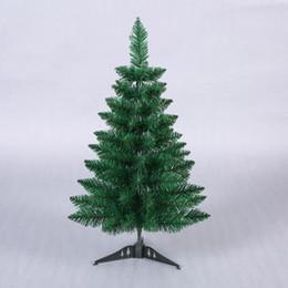 2019 plantas artificiais luzes led 60 cm Mini Artificial Verde Pointy Árvore de Natal Pequena Árvore de Natal Ano Novo Enfeites Para Casa Decorações de Desktop Natal