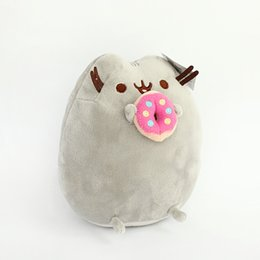 Wholesale Mouse Cookie - wholesale 15cm children baby doll Fat Pusheen Cat Cookie & Icecream & Doughnut &Cake Stuffed Plush Animals Toys for Girls