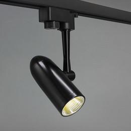 Luz de pista comercial led on-line-LEVOU Luz Pista Trilho de Teto Holofotes AC85-260V 10 W 15 W 20 W para Sala de estar Home Store Exposição de Escritório Comercial Foco iluminação