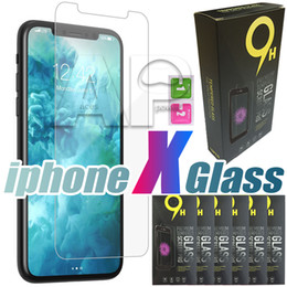 Wholesale Retail Screen - Tempered Glass For Iphone X 10 8 Iphone8 7 I7 Plus Screen Protector For iPhone 6 6S With Retail Package
