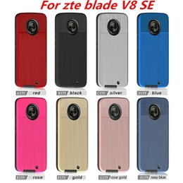 Wholesale G6 Light - Hybrid Armor Case For zte blade V8 SE blade L7 For LG Q6 MINI G6 PLUS Q6A M700DSK M700AN Brushed Case C