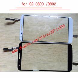 Lg g2 display ersatz online-Original für lg g2 d800 d802 touchscreen lcd display digitizer frontplatte glasabdeckung ersatz