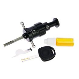 decodificador turbo Rebajas Venta caliente Auto Lock Decoder Tools Turbo Decoder HU100 Lock Pick Set Cerrajería Herramientas para Opel