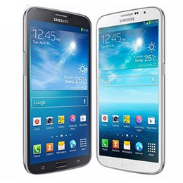 Double téléphones mobiles pas cher en Ligne-Samsung GALAXY d'origine remis à neuf Mega 6,3 i9200 6,3 pouces Dual Core 1,5 Go de RAM 16 Go ROM réseau 3G débloqué téléphone portable gratuit DHL 10pcs