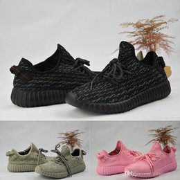 Wholesale Lace Up Oxford Shoes - 2018 350 boost final Version v1 and v2 boost Turtle Dove Running Shoes mix moonrock oxford tan pirate black Shoes size 36-46 With Box