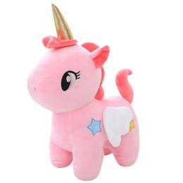 Yumuşak Unicorn Bebek Kawaii Peluş Oyuncak Yatıştırmak Uyku Uyku Çocuk Odası Dekor Oyuncak Çocuk Öğrenci Noel Cadılar Bayramı Hedi ... nereden