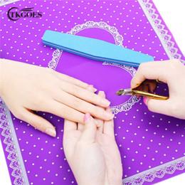 Schönheit & Gesundheit 1 Stück Nail Art Ausrüstung Erweiterte Silikon Tischset Pro Pad Falten Waschbar Salon Maniküre Nagel Werkzeug Schönheit Hand Kissen