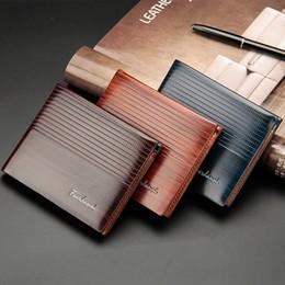 Wholesale Embossed Wallets - Men's short style embossed purse card bag wallet