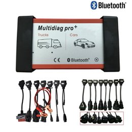2019 connecteur opel 16 broches DHL Free Multidiag Pro 2015r3 outil de diagnostic Bluetooth ne plus voitures / camions et OBD2 Scanner + carbles + câbles de camion