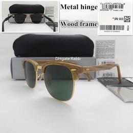 sunglasses white glass circle Australia - high quality Sunglasses Women Men Sunglasses UV400 Anti-glare sunglasses 51MM Plank Eyeglass Circle Goggles With Box Case