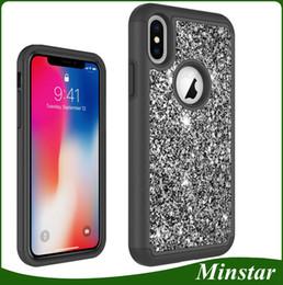 2ec72d6c3 China New Arrive Glitter Diamond Phone Case for iPhone SE2 SE 2 Samsung S9  S9 Plus
