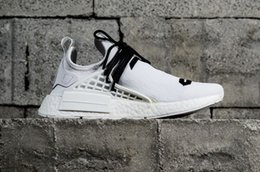 Wholesale Real God - New Arrival Fear of God X Human Race NMD FOG Pharrell Williams Running Shoes Professional Sports Shoes Outdoor shoe free shipping real boost