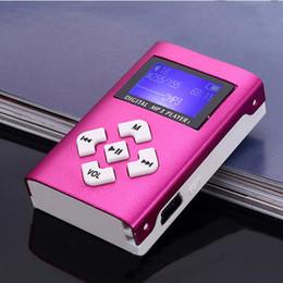 MX-808 Mini USB Alüminyum LCD Ekran Yükseltildi Sürüm 32 GB Micro SD TF Kart Dijital Müzik MP3 Çalar nereden sd kart sürümleri tedarikçiler