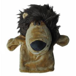 2019 куклы ручной работы Baby Плюшевые игрушки Finger Puppets Tell Story Подставки Animal Doll Hand Puppet Детские игрушки Дети Подарок Рождество дешево куклы ручной работы