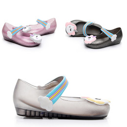 Wholesale Cheap Sandals Wholesale - Cheap Baby Kids Casual Shoes Children 's unicorn jelly children shoes student shoes baby girls children' s sandals 1972