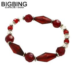nickel armbänder Rabatt BIGBING Schmuck rote Kristallkorne strecken freies Verschiffen R086 des Armbandarmbandart und weisearmbandes gute Qualität Nickel