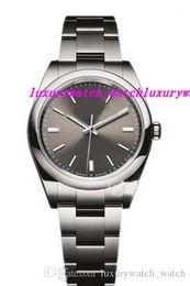 058e442533d pulseira ss Desconto Venda quente de Luxo Relógio De Pulso Pulseira De Aço  Inoxidável 114300 Automático