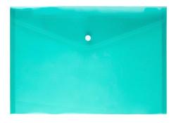suporte para cartão de papel Desconto 600 pcs pasta de Arquivo saco de documentos de plástico transparente A4 hasp botão fundido cor de armazenamento de armazenamento saco de papelaria titular