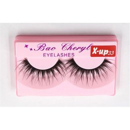 makeup black hair Coupons - Bao Cheryl Supernatural Lifelike Handmade False Eyelash 3D Strip Lashes Thick Fake Faux Eyelashes Makeup Beauty Supplies 3001339