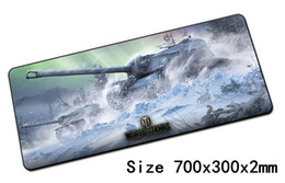 Wholesale Popular Laptops - World of tanks padmouse 700x300mm wot pad to mouse notbook computer mousepad Popular gaming mouse pad gamer to laptop mat