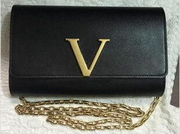 Pulsera de cuero genuino online-¡Envío gratis! Bolso de la marca de los diseñadores de moda al por mayor con cuero de vaca genuino pulsera de cuero para mujeres bolsos de Hombro bags94336