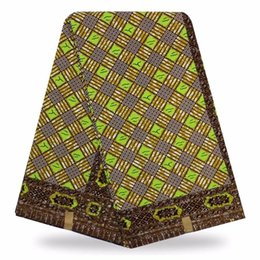 Wholesale Wholesale Dresses For Sale - real wax african fabric wax print african fabric wax cotton holland 2018 hot sale for women dress (6yard lot) MSS08