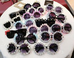 2019 óculos de sol da flor 2018 New Women Beach Sunglasses moda feminina flores redondas óculos de sol para óculos de férias melhor presente navio livre desconto óculos de sol da flor
