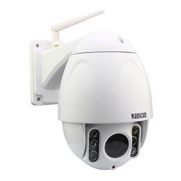 WANSCAM HW0045 Étanche IP66 Extérieure 2MP HD1080P X5 Zoom optique Wifi Sécurité IP PTZ Caméra IR-Cut Plug Play Enregistrement Webcam ? partir de fabricateur
