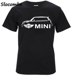 Ilustrações de car designs on-line-2018 Mais Recente Estilo Mini Cooper S Impressão T-shirt Do Carro Dos Homens Personalidade Design Gráfico T Camisa