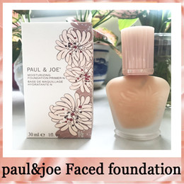 Wholesale Red Wine Acne - Brand enamel paul&joe pj refreshing Faced foundation liquid Luminous Primer 30ml 30ML free shipping 660251- 01