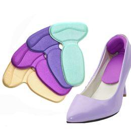 Canada 1 Paire Doux Orthopédique Semelles Pads Haut Talon Soins Des Pieds Protecteur Anti Slip Coussin Chaussure Insert Semelles Outil de Soins Des Pieds Pédicure cheap shoes tools Offre