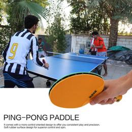 raquetes de tênis de mesa dupla felicidade Desconto Esportes ao ar livre Indoor Tênis De Mesa À Prova D 'Água Portátil de Borracha De Plástico Durável Ping-pong Pá