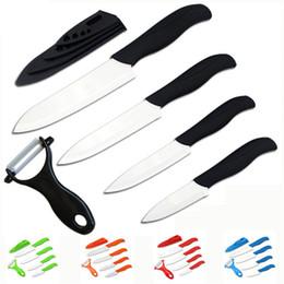 Conjunto de regalo de belleza de calidad superior de marca Zirconia Juego de cuchillo de cerámica de cocina 3