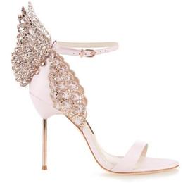 Date Femmes Papillon Mince Talons Hauts Sandales Exquise De La Mode Chaussures Aile Femme De Banquet Robe De Mariée À Talons Hauts ? partir de fabricateur