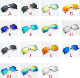 Wholesale eyewear aviator - Children Baby Girls Boys Sunglasses Hot New Fashion Aviator Style Design Kids Beach Supplies UV Protective Eyewear Baby Sunshades Glasses