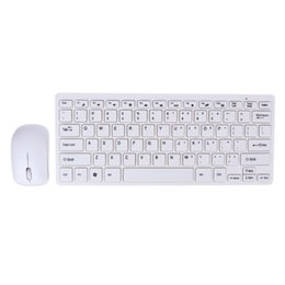 Wholesale laptop keyboard protective - 2.4GHz Wireless Keyboard Mouse Kit+ Keyboard Protective Cover + Wireless Mouse Kit for Desktop Laptop