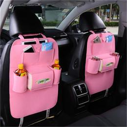 Assento 2PCS / SET Car Bag Universal Box Back Seat Bag Organizador Backseat Titular Pockets Car-styling Protector Auto Acessórios de Fornecedores de roupa interior preta sexy