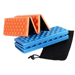 Wholesale Mat Camp - XPE Cushion Portable Foldable Folding Outdoor Camping Mat Seat Foam Waterproof Chair Picnic Mat Pad 5 Colors
