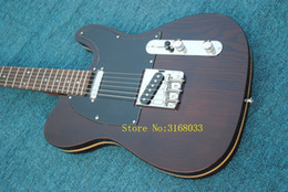 Discount telecaster guitar bodies - Custom Shop Limited George Harrison TL Telecaster Satin Natural Electric Guitar String Thru Body, Traditional Deluxe F Tuner Machine Head