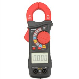 Wholesale Current Volts Amps - HD HD90B Digital Clamp Meter Auto Range multimeter Amp Volt Ohmmeter current tongs Frequency Capacitance tester Diagnostic-tool